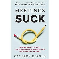 Meetings Suck by Cameron Herold PDF Download