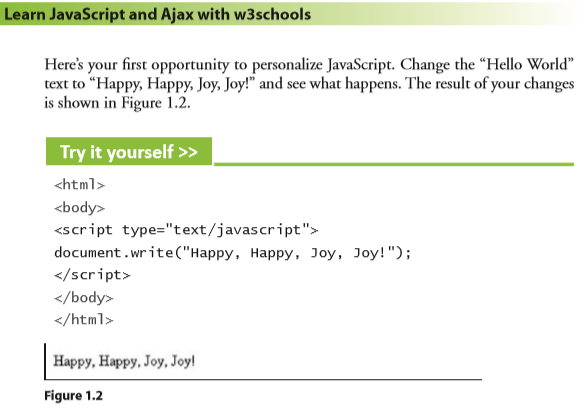 learn javascript and ajax with w3schools ebook free download