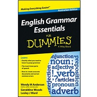 English Grammar Essentials For Dummies by Wendy M. Anderson PDF Download