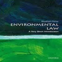 Environmental Law by Elizabeth Fisher PDF Download