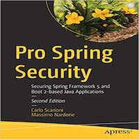 Pro Spring Security by Carlo Scarioni PDF Download
