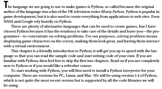 Beginning Game Development with Python and Pygame - From ...