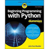 Beginning Programming with Python for Dummies by John Paul Mueller PDF Download