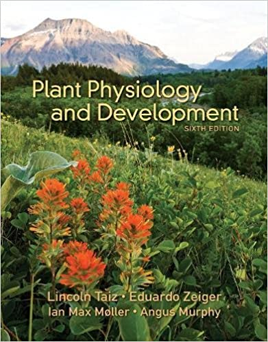 Plant Physiology and Development 6th Edition by Lincoln Taiz PDF Download
