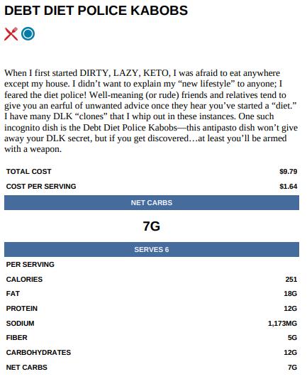 The DIRTY, LAZY, KETO Dirt Cheap Cookbook by Stephanie Laska PDF