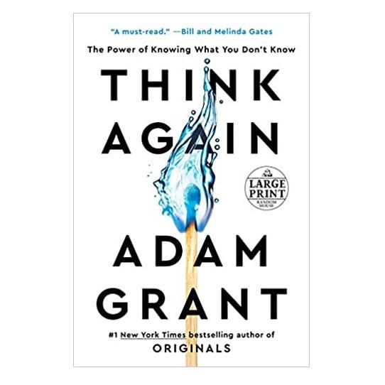 Think Again by Adam Grant PDF Download