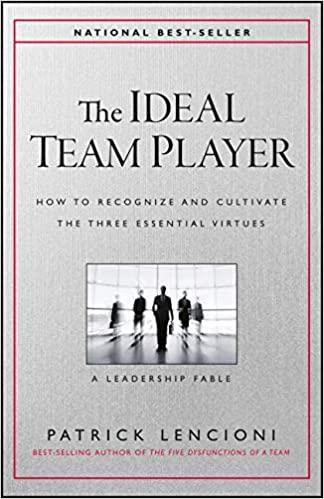 The Ideal Team Player by Patrick Lencioni PDF